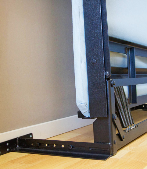 Murphy bed wall bed without the kit  YouTube